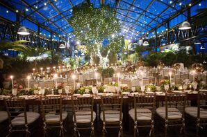Planterra Wedding Reception with Candles