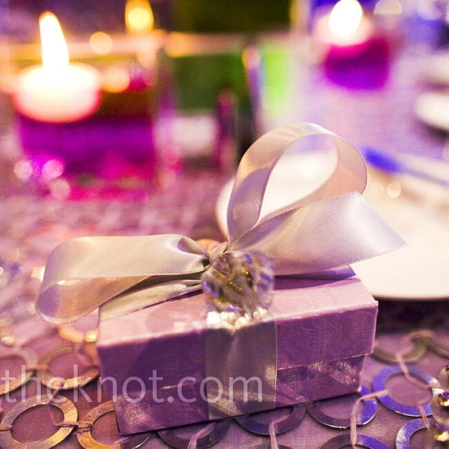 Purple Box Favors