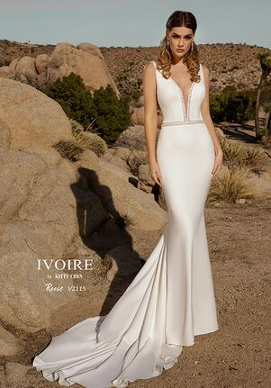 IVOIRE by KITTY CHEN REESE,V2115 Sheath Wedding Dress