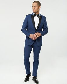 LE CHÂTEAU Wedding Boutique Tuxedos MENSWEAR_359933_019 Blue Tuxedo