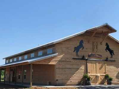 Bullard  Farm And Pavilion/Hitchin' Post