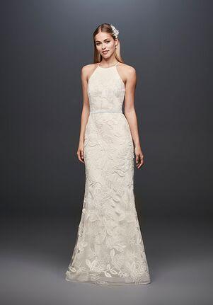 David's Bridal DB Studio Style SDWG0686 Sheath Wedding Dress