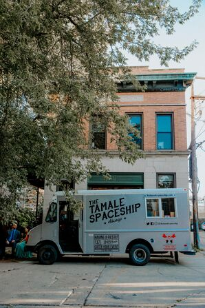 Tamale Spaceship Food Truck at Reception