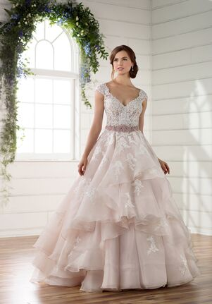 Essense of Australia D2273 A-Line Wedding Dress