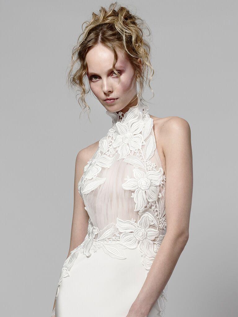 Elizabeth Fillmore Spring 2019 Collection Bridal Fashion Week Photos