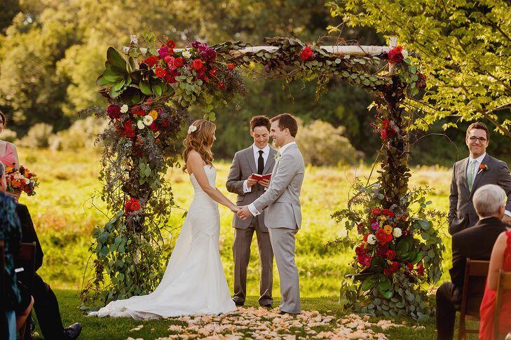 Wedding Ceremony at Misty Farm in Ann Arbor