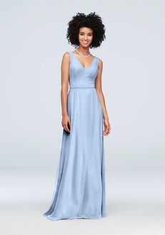 David's Bridal Collection David's Bridal Style F19938 V-Neck Bridesmaid Dress