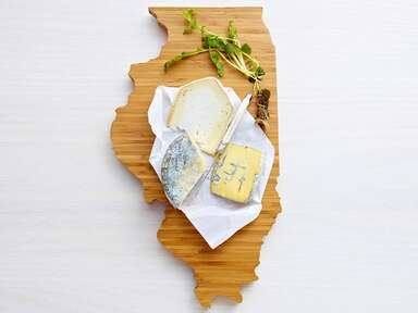 State-shaped AHeirloom cutting board