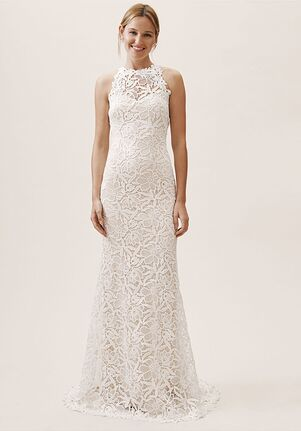 BHLDN Vista Gown Sheath Wedding Dress