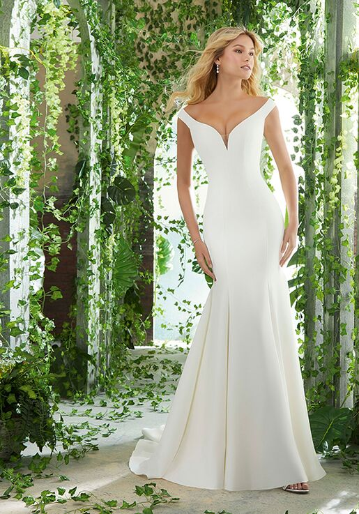 5b35e798342d Morilee by Madeline Gardner/Voyage Paxton Wedding Dress | The Knot