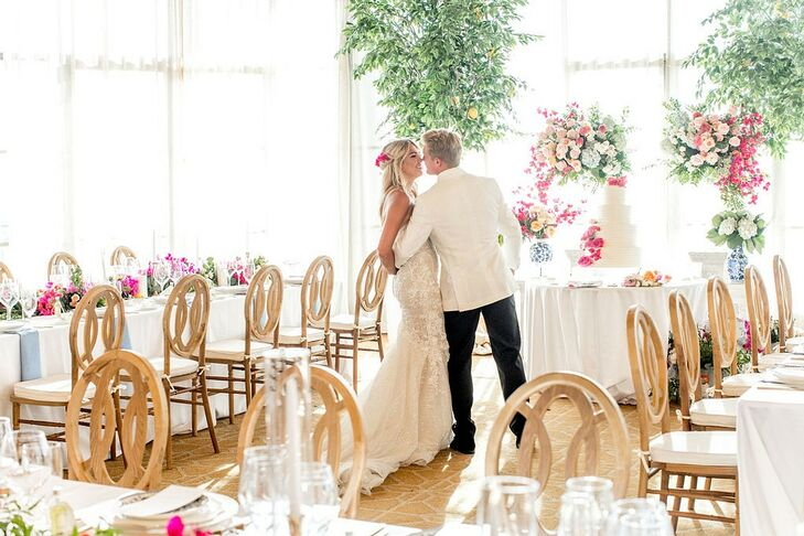 Brynne and Josh Beebee met in Mykonos, got engaged in Santorini and took their first holiday in Capri. It only made sense to bring their love of the M