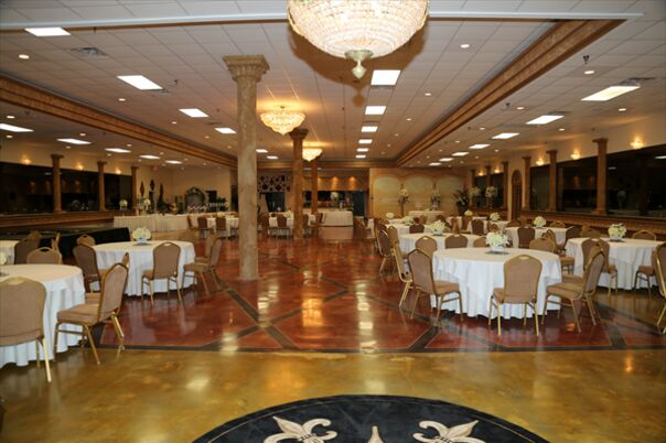 Banquet Halls Westbank New Orleans Crystal palace reception hall