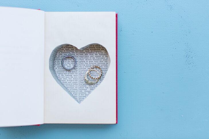 Cut-Out Book Ring Box Alternative