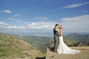 Mountain Wedding in Snowbird, Utah