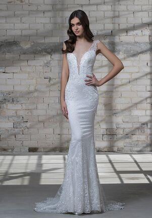 LOVE by Pnina Tornai for Kleinfeld 14683 Sheath Wedding Dress