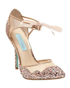 Blue by Betsey Johnson SB-STELA-champagne Champagne Shoe