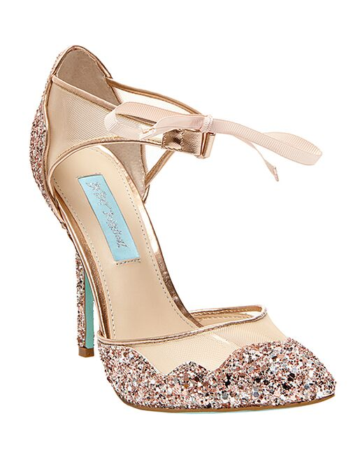 4b4638d5e2c Blue by Betsey Johnson SB-STELA-champagne Wedding Shoes - The Knot
