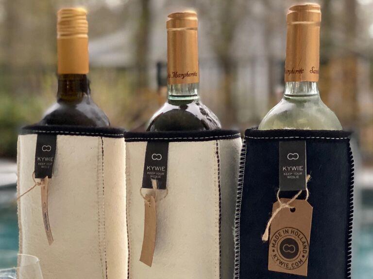 Kywie suede wine cooler