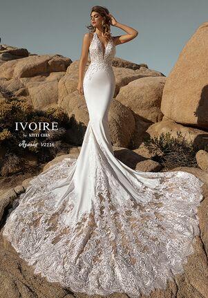 IVOIRE by KITTY CHEN AZARIA,V2116 Sheath Wedding Dress
