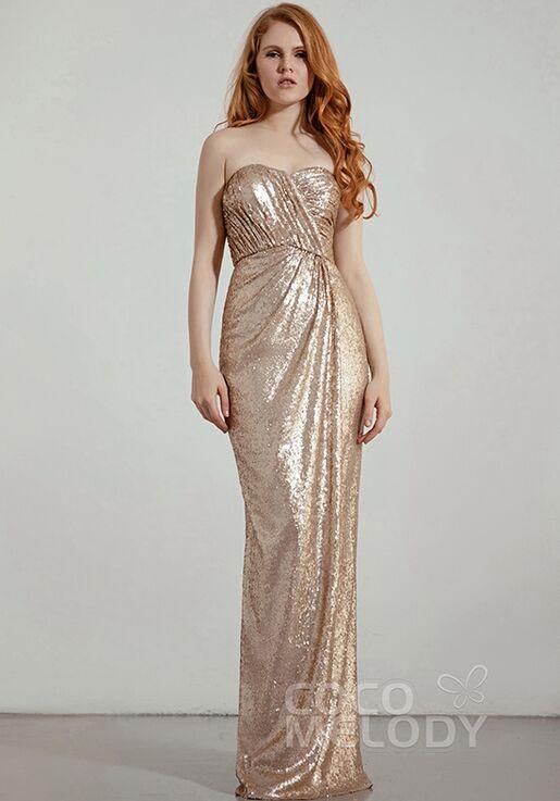 CocoMelody Bridesmaid Dresses RB0343 Sweetheart Bridesmaid Dress