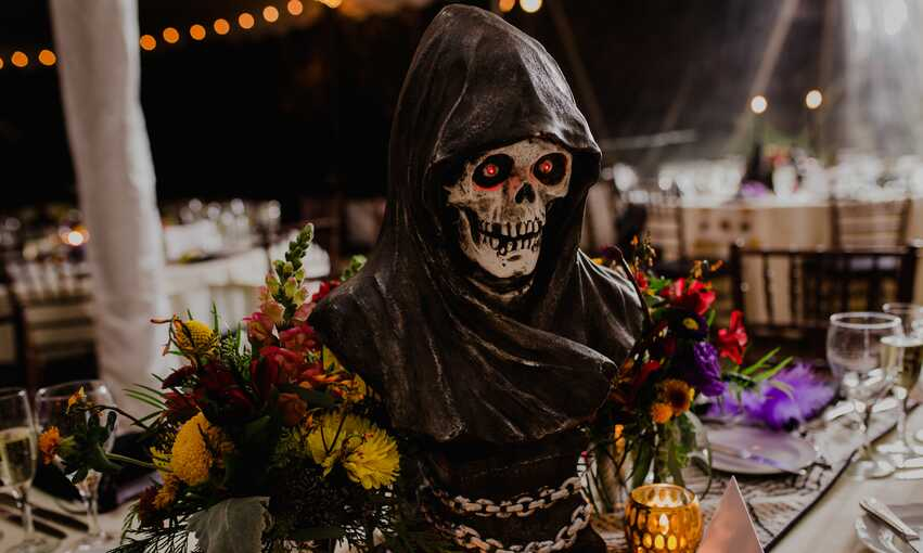 Halloween Masquerade party themed inspiration and ideas