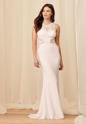 Lulus Luxe Bridal Fated to Forever White Embroidered Mermaid Maxi Dress Mermaid Wedding Dress