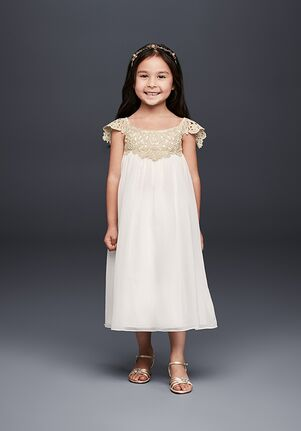 52b6720f2f4 Tea Length Flower Girl Dresses