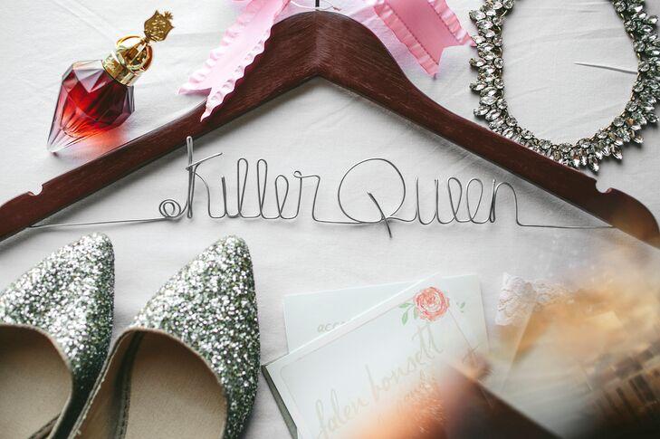 Killer Queen Custom Clothes Hanger