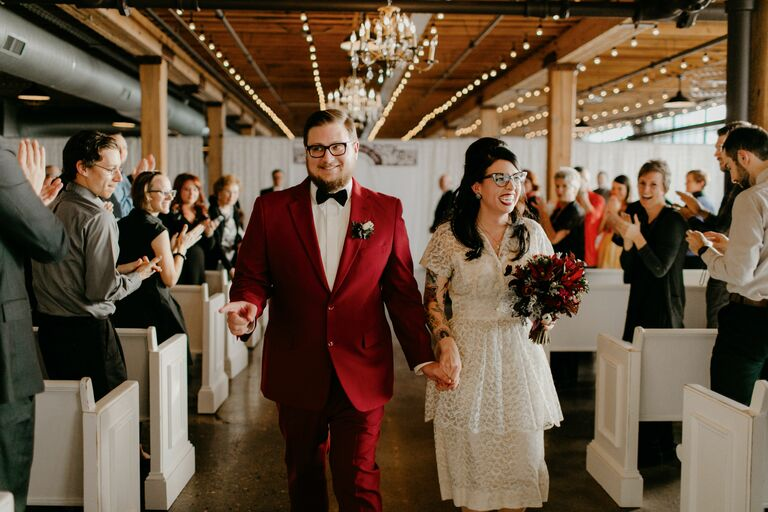 Wedding midi dress