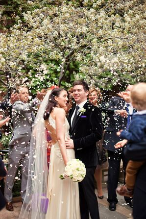 Spring Recessional at New York City Wedding
