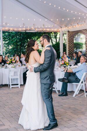 Tented Wedding Reception First Dance
