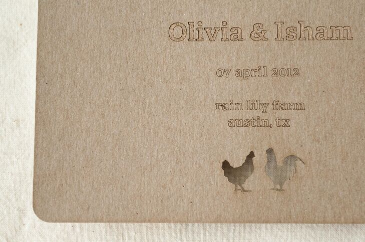 Laser Cut Save-the-Date