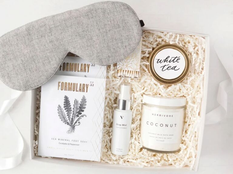 Relaxation gift box 20th anniversary present