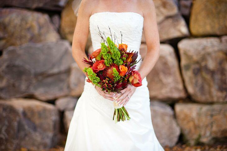 Textural Fall Bouquet