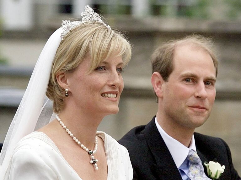Sophie Countess Of Wes On Her Wedding Day