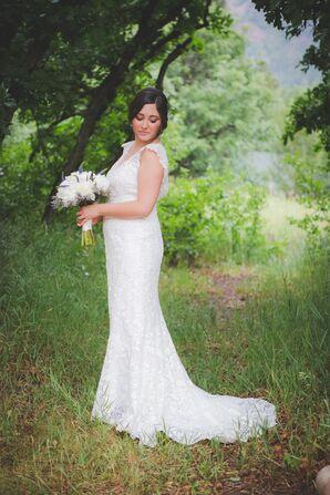 A Sheath Wedding Dress