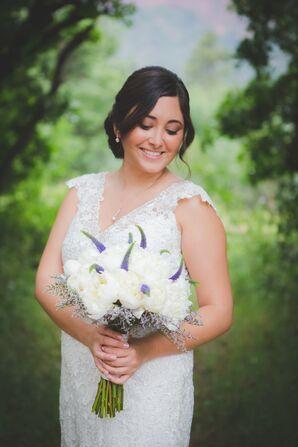 Simple, Natural Bridal Look