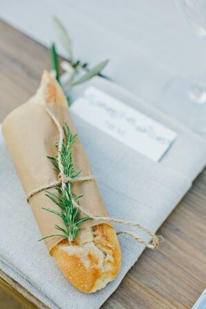 Fresh Rosemary Baguettes