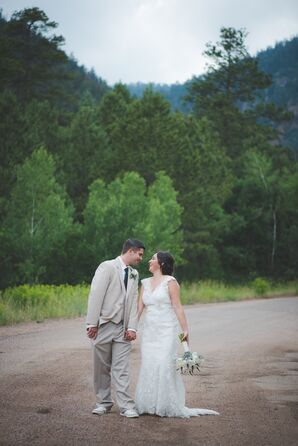 Tessa and Jesse at The Pinecrest in Colorado