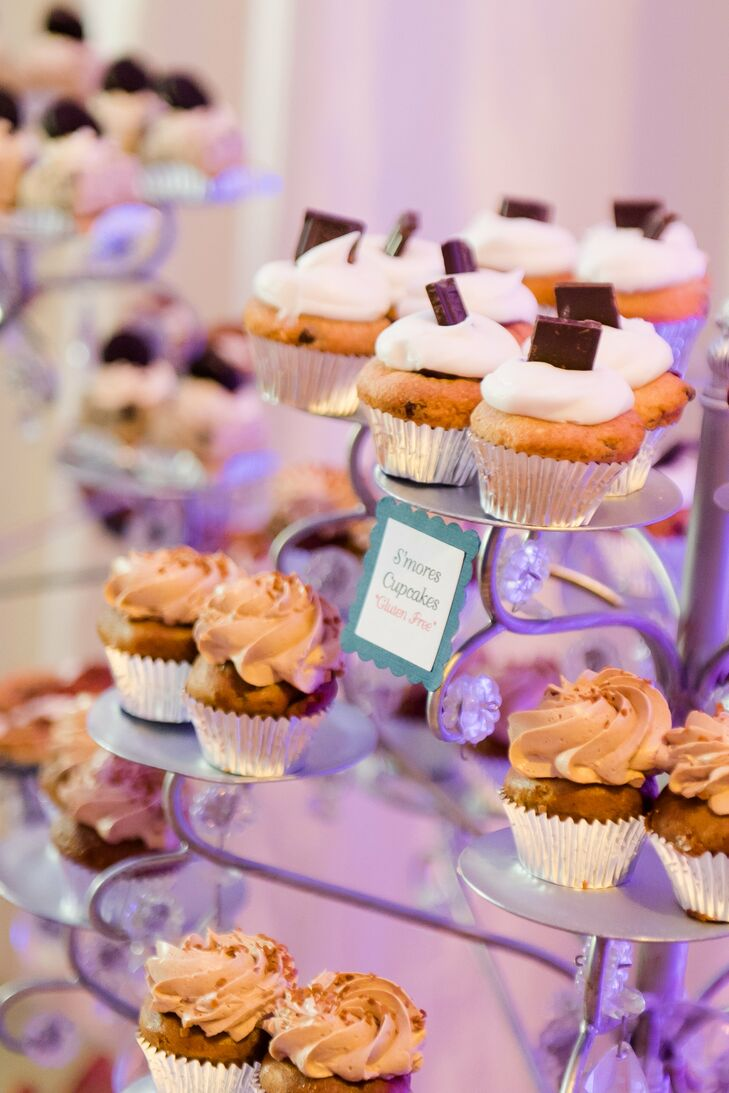 S'mores and Assorted Cupcakes
