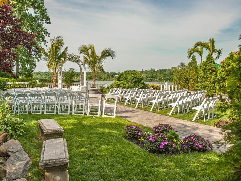 Wedding venue in Lake Ronkonkoma, New York.