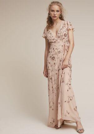 BHLDN (Bridesmaids) Plymouth Dress V-Neck Bridesmaid Dress