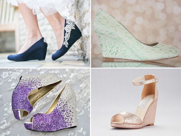 wedding wedges in every color