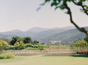 Wedding Ceremony at Holman Ranch in Carmel Valley, California