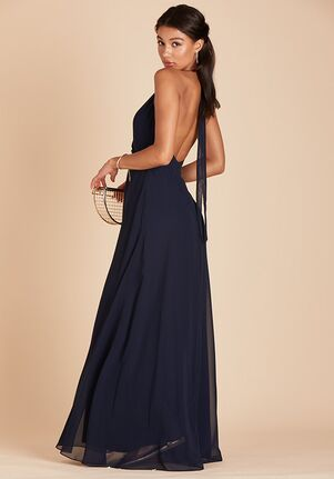 Birdy Grey Moni Convertible Dress in Navy Halter Bridesmaid Dress