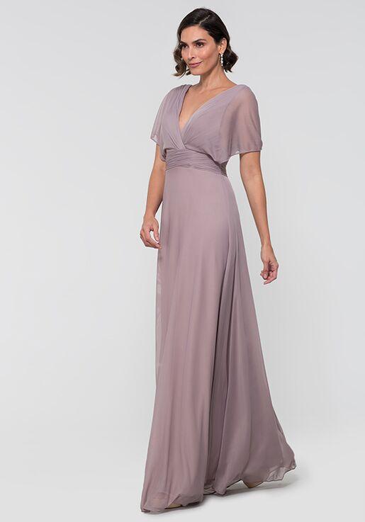 Kleinfeld Bridesmaid KL-200037 V-Neck Bridesmaid Dress