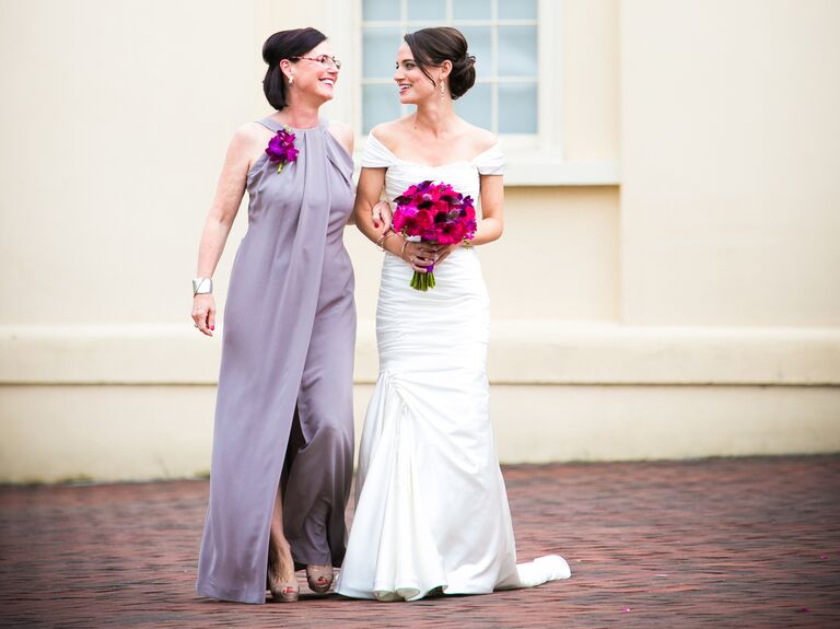 Bride and mother of the bride processional