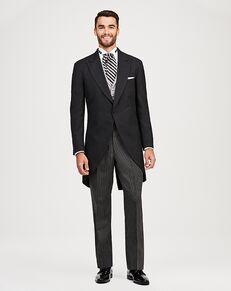 Jos. A. Bank Joseph & Feiss Gray Cutaway Tuxedo Black Tuxedo
