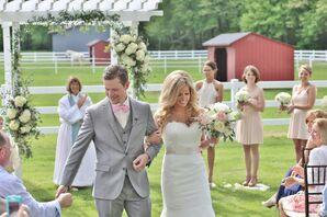 Augusta Jones Lace Mermaid Wedding Dress