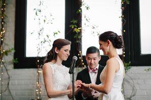 Catholic-Jewish Fusion Wedding at 501 Union